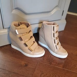 Aldo sneaker heels